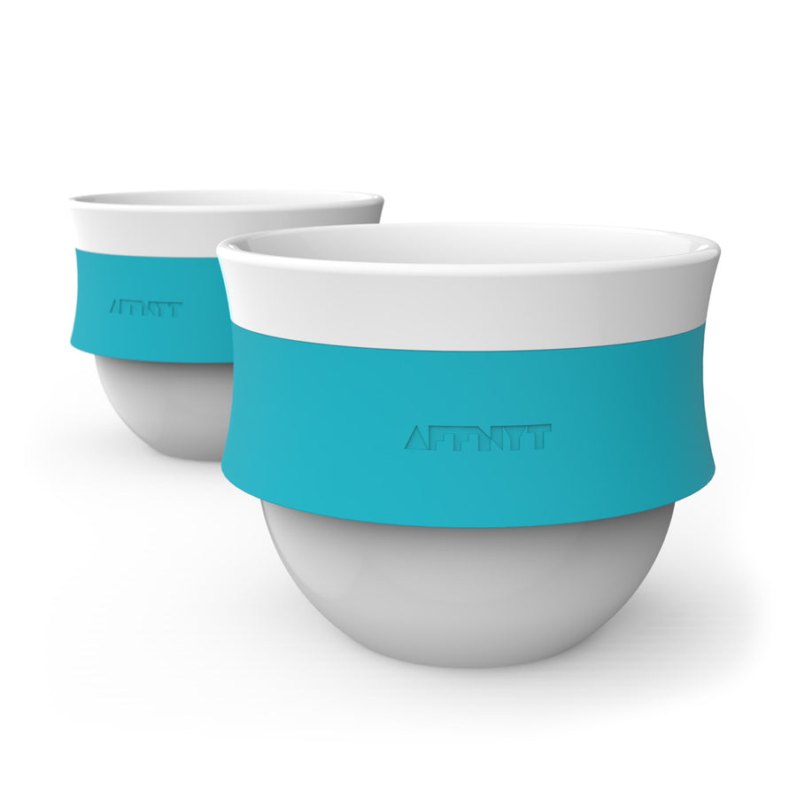 Fuse 6oz stackable Coffee Cup Blue - Affnyt