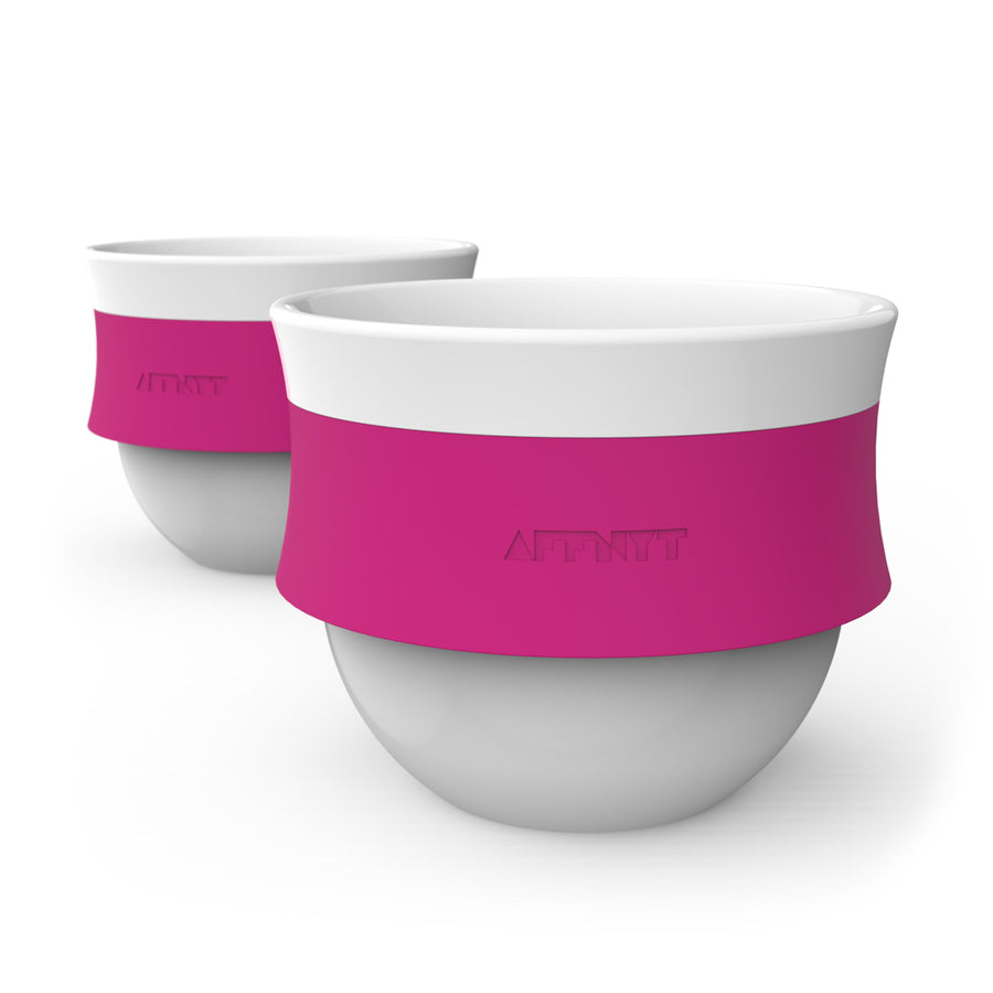 Fuse 6oz stackable Coffee Cup Pink - Affnyt