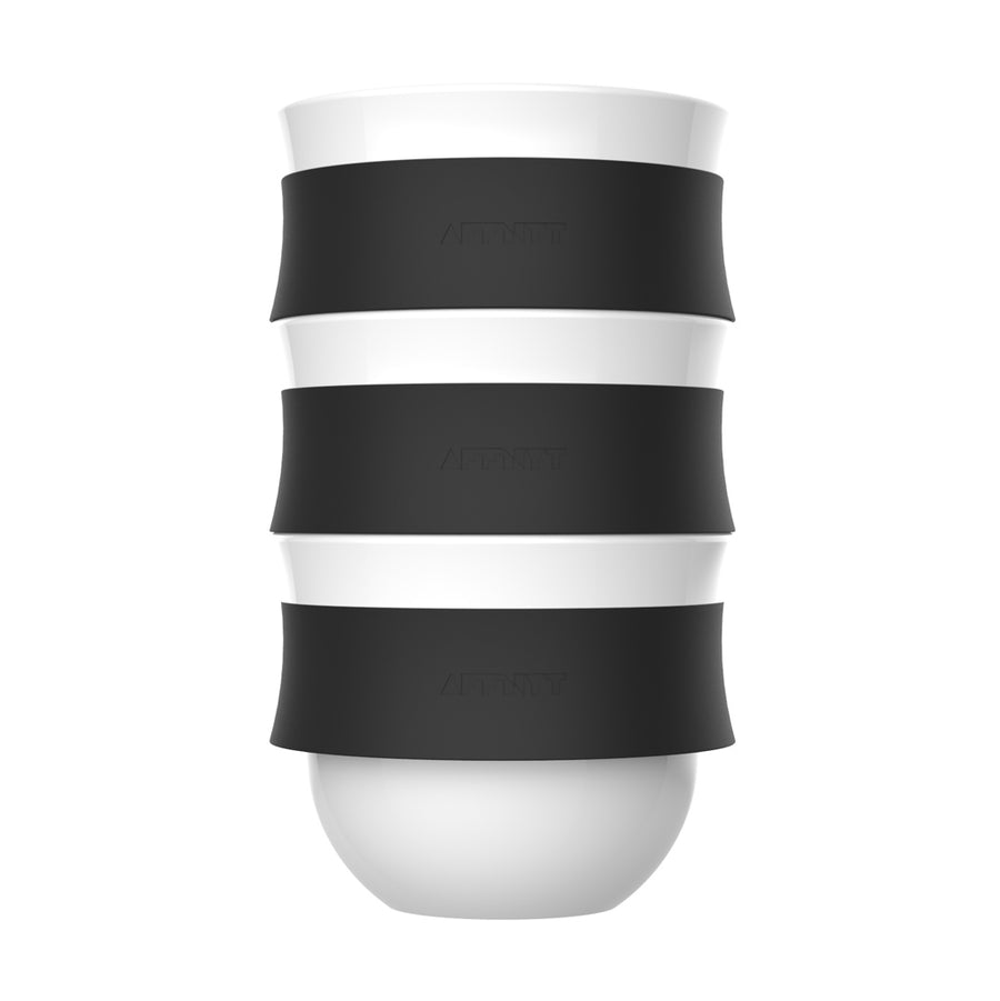 Fuse 10oz Coffee Cup Black - Affnyt
