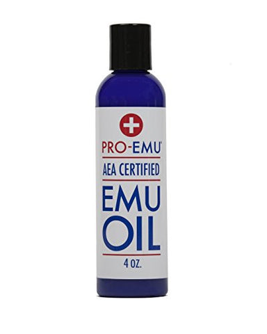 Pro Emu Oil (4 Oz) All Natural Emu Oil   Aea Certified   Made In Usa   Best All Natural Oil For Face