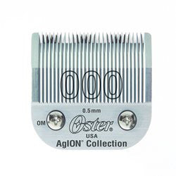 Oster Agion Hair Clipper Blade  Size 000  For Classic 76, Star Teq, Power Teq & Power Line Clippers