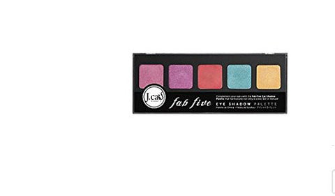 J.Cat Beauty Fab Five Eyeshadow Palette Mysterious Trove