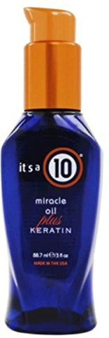 It's A 10 Miracle Oil Plus Keratin 3 Oz (Pack Of 4)