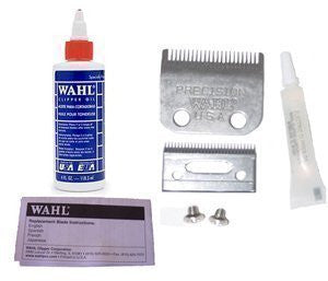 Wahl Replacement Blade Set #1045 For Home Clippers * Plus 4oz Oil