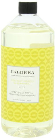 Caldrea Hand Soap Refill, Sea Salt Neroli, 32 Oz