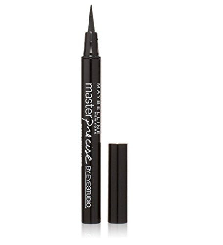 Maybelline Eye Studio Master Precise Liquid Eyeliner Ink Pen, Black [110], 1 Ea (Pack Of 3)