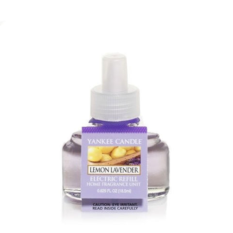 Yankee Candle Lemon Lavender Scent Plug Air Freshener Refill, Fresh Scent