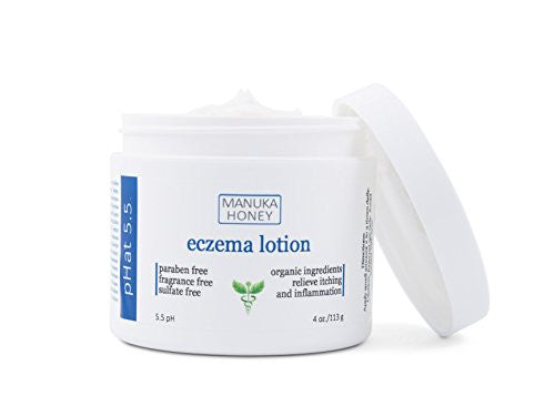 Eczema Cream Natural And Organic Treatment Therapy For Face, Hands, And Body By P Hat 5.5   Best Loti