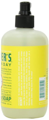 Mrs. Meyer's Clean Day Hand Soap Liquid, Honeysuckle, 12.5 Fluid Ounce Bottles (Pack Of 6)