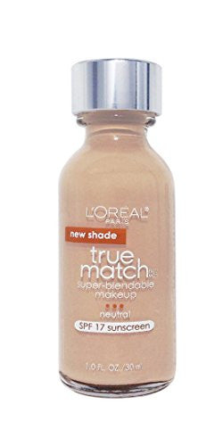 L'oreal Paris Makeup True Match Super Blendable Liquid Foundation, Golden Beige N6.5, 1 Fl Oz,1 Coun