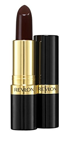 Revlon Super Lustrous Lipstick With Vitamin E And Avocado Oil, Cream Lipstick In Burgundy, 477 Black