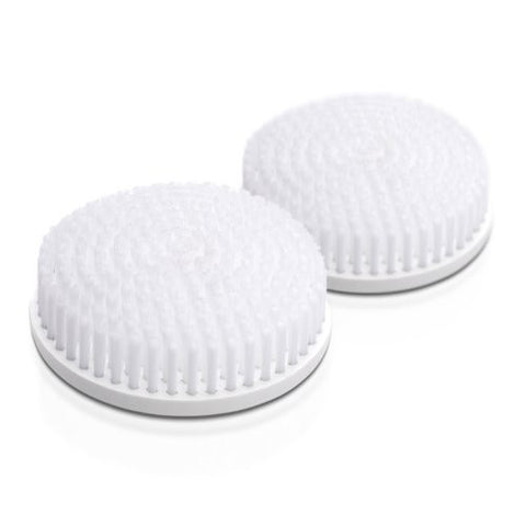 Replacement Heads (2 Pack) For The Skin Care System By Toilet Tree Products (Body Brush)