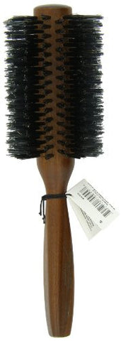 Spornette Italian 2.75 Inch Round Double Density Boar Bristle Brush #955 W/Wooden Handle For Styling
