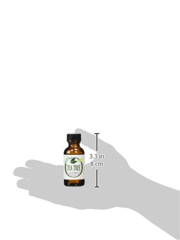 Healing Solutions Tea Tree 100% Pure Best Therapeutic Grade Essential Oil, 1 Fl Oz