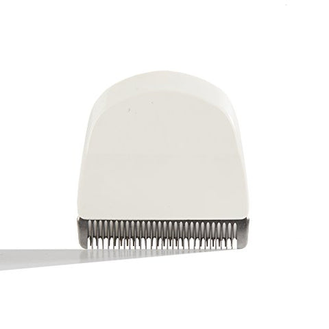 Wahl Professional Peanut Snap On Clipper/Trimmer Blade (White) #2068 300 For Wahl Peanuts (White)