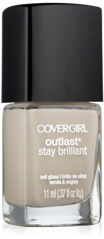 Covergirl Outlast Stay Brilliant Nail Gloss, Always Naked 200, 0.37 Ounce