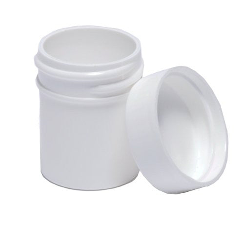 Plastic Ointment Jars With Lids 1/2 Oz 10/Pkg