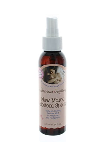 Herbal Perineal Spray By Earth Mama | Safe For Pregnancy And Postpartum, Natural Cooling Spray For A