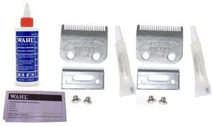 Wahl Replacement Blade Sets Plus Oil ** Two #1045 Blade Sets For Home Clippers * Plus 4oz Oil