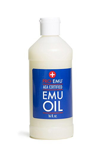 Pro Emu Oil (16oz) All Natural Emu Oil   Aea Certified   Made In Usa   Best All Natural Oil For Face