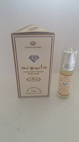 Diamond   Perfume Oil By Al Rehab (6ml)