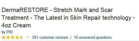 Pri Dermarestore   The #1 Clinically Proven Stretch Mark And Scar Treatment   4oz Cream