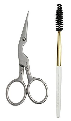 Tweezerman Ltd Brow Shaping Scissors And Brush