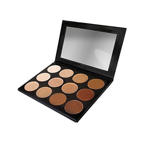 Mehron Makeup Celebre Pro Hd Cream Face & Body Makeup, 12 Color Foundation Palette