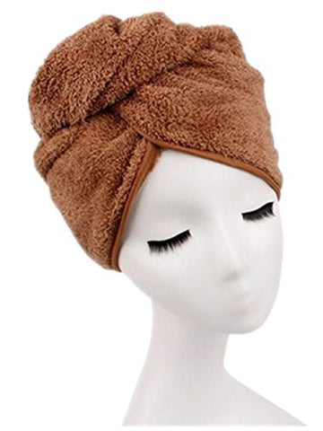 Radient Microfiber Quick Drying Hair-drying Towel Bowknot Coral Velvet Bath Cap Strong Water Absorption Hair Dry Shower Bath Hat Tool Volume Large Bath & Shower Beauty & Health