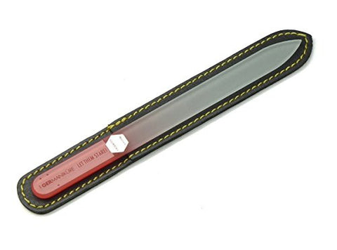 Let Them Stare Genuine Patented Czech Crystal Glass Double Sided Manicure Pedicure Mantra Nail File