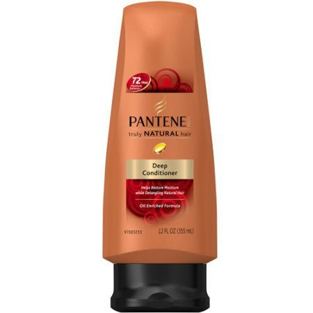 Pantene Truly Natural Deep Conditioner 12.6oz (2 Pack)