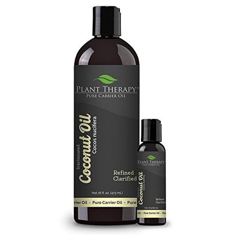 Coconut (Fractionated) Carrier Oil. A Base Oil For Aromatherapy, Essential Oil Or Massage Use. (16 O