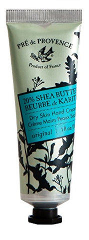 Pre De Provence 20% Natural Shea Butter Hand Cream, For Repairing, Soothing, Moisturizing Dry Skin