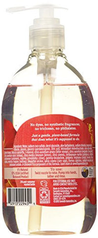Seventh Generation Hand Wash Soap, Hibiscus & Cardamom, 12 Oz. (Pack Of 8)