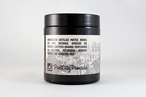 Port City Pomade Water Based Heavy Hold Pomade   Unorthodox All Natural Hair Styling Clay And Pomade