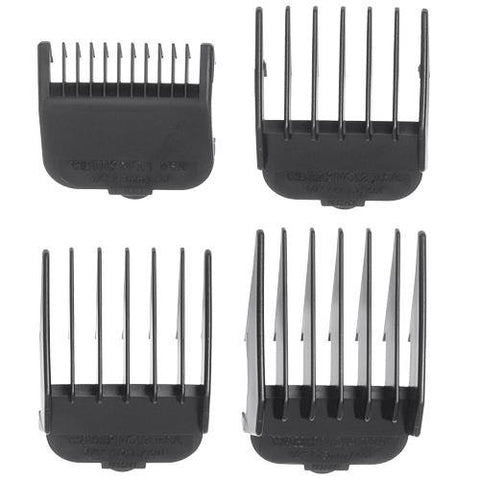 Professional Attachment Combs Set Black For Wahl Clippers (Model:3160 100)