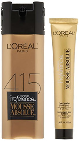 L'oreal Paris Superior Preference Mousse Absolue, 415 Icy Dark Brown