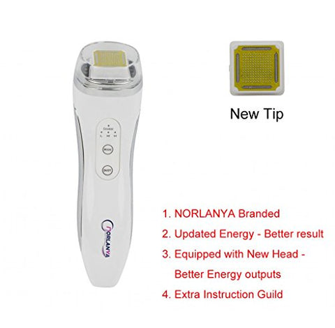 Norlanya Mini Portable Anti Aging Dot Matrix Rf Thermal Skin Lift Device With Platinum Head And Char