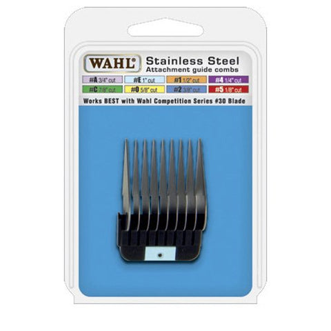 Wahl Professional Animal Stainless Steel Attachment Guide Comb For Wahl Detachable Blade Pet Clipper