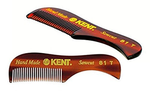 Kent Hand Made Beard And Moustache Comb (81 T) (2)