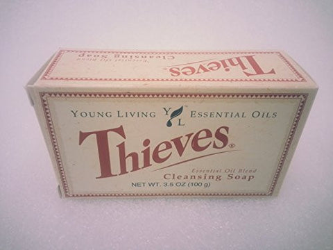 Thieves Essential Oil Cleansing Soap By Young Living Essential Oils   3.5oz.