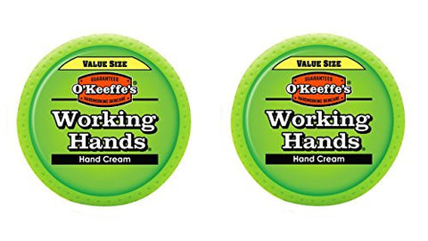 O'keeffe's K0680001 2 Working Hands Hand Cream In Jar (2 Pack), 6.8 Oz