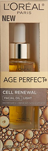 L Oreal Paris Age Perfect Cell Renewal Facial Oil, 1.0 Fl Oz