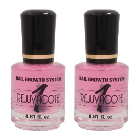 Duri Rejuvacote 1 Original Maximum Strength Nail Growth System, Base And Top Coat, 2 Pack, 0.61 Fl.O