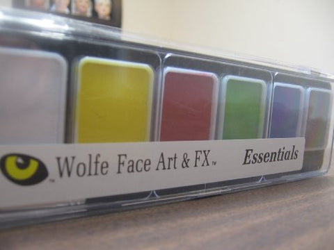 Wolfe Face Art And Fx Palette   Essential   Hydrocolor (6/Colors)
