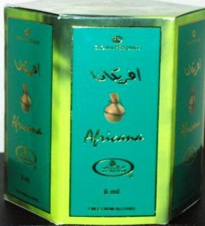 Africana   6ml (.2oz) Roll On Perfume Oil By Al Rehab (Crown Perfumes) (Box Of 6)