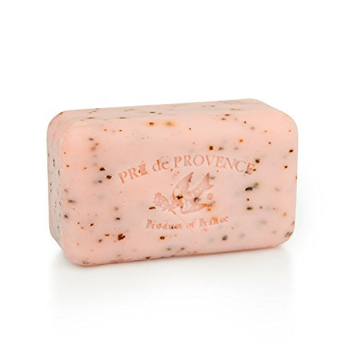 Pre De Provence Shea Butter Enriched Handmade French Soap Bar (150g)   Juicy Pomegranate