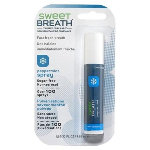 Sweet Breath Non Aerosol Spray Peppermint