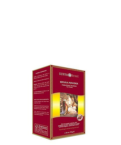 Surya Brasil Products Henna Powder, Neutral, 1.76 Ounce