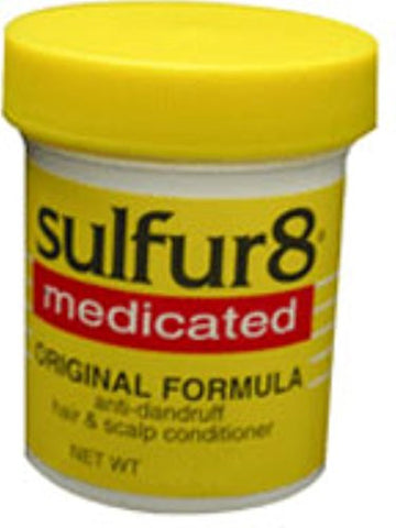 Sulfur8 Medicated Regular Formula Anti Dandruff Hair And Scalp Conditioner 2 Oz (Pack Of 4)